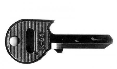 G.S K-64 ブランクキー 鍵 スペアキー 合鍵 ベンツ