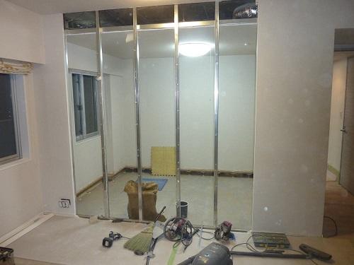 0214和室置き床壁解体2