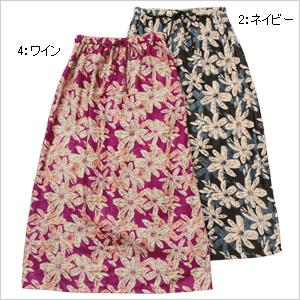 フラワーランニング スカート1