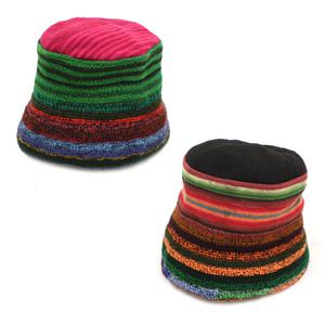 帽子 古布クスコ1