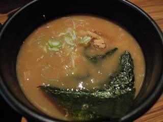 麺家 聖 HIJIRI 超濃厚魚介とんこつつけ麺(つけ汁)