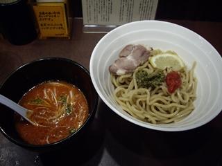 つけ麺銀風 海老トマトつけ麺