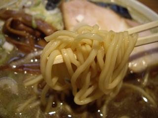 つじ田奥の院 煮干蕎麦 並(麺)