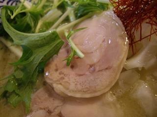 濃厚鶏白湯らーめん麺屋一楽 濃厚鶏白湯ラーメン(チャーシュー)