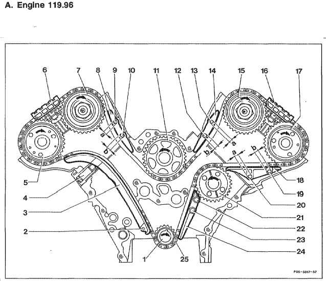 sl500 timing chain guide pin removal