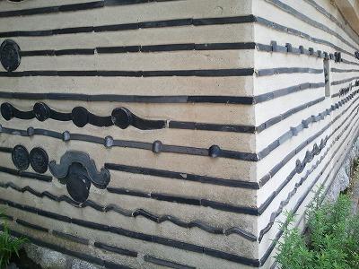 京都大徳寺塀