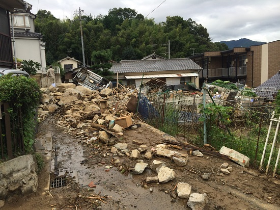 広島市土砂災害