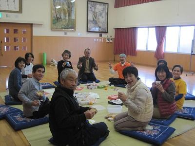 2013年12月大橋会館茶話会