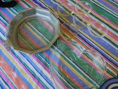 古いクリアガラス