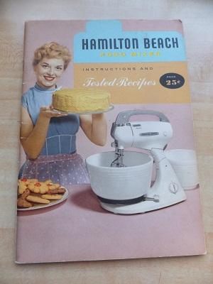 Hamilton beach レシピ本1