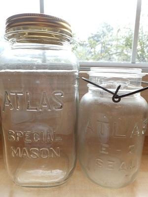Atlas瓶 2つ