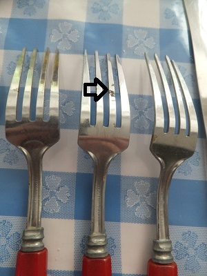 ベーカライト フリマ用 フォーク2