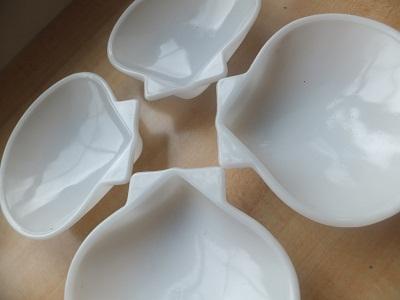 Glasbake 小皿 シェル型