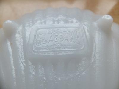 Glasbake 小皿 シェル型2