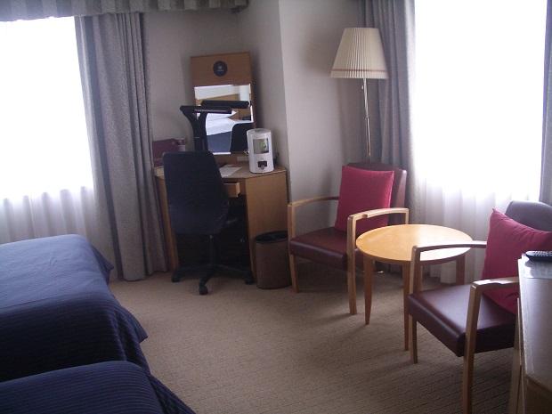 シェラトン札幌 18階のツインルーム