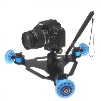 「カメラ用ミニ台車 ムービングカメラドリー」-2