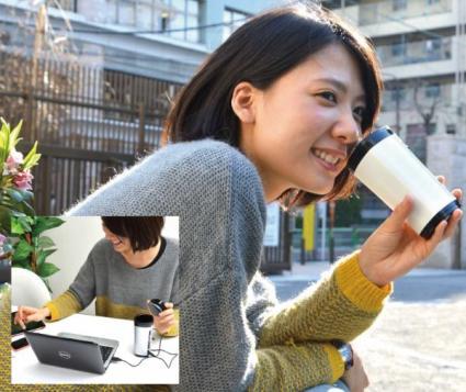 「USB うずまきコーヒータンブラー」-2