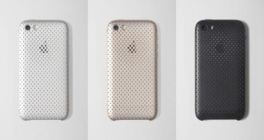 「SQUAIR Duralumin Mesh Case for iPhone 5s & 5」-1