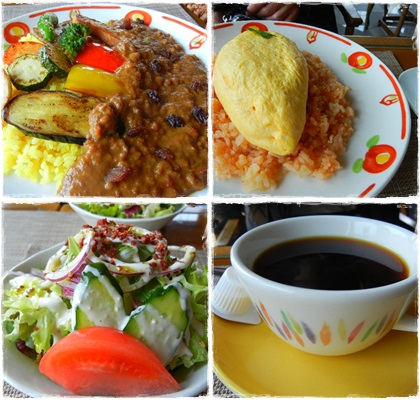 pops cafeランチ