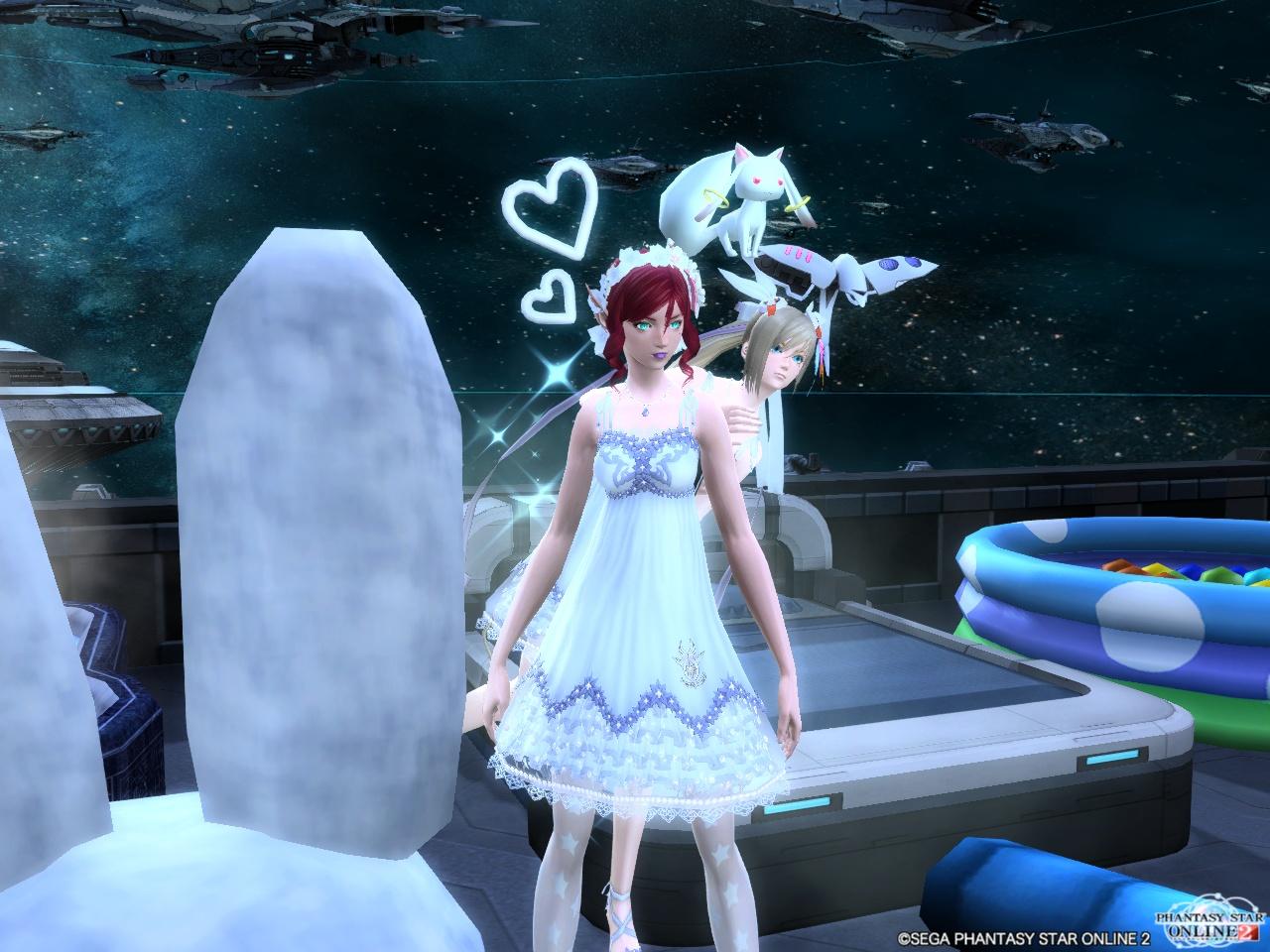 エアリーサマードレスでモーニングショット