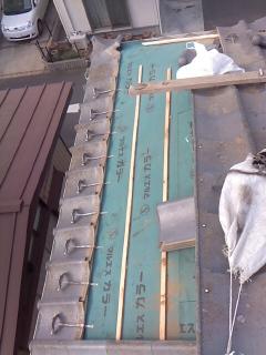 みらい住建 リフォーム 瓦の積み替え 2号4日③