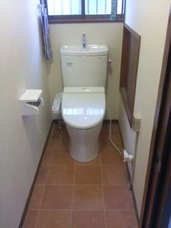 みらい住建 リフォーム 浴室、トイレの改修2号2日③