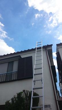 みらい住建 リフォーム 屋根の点検8号31日縮小