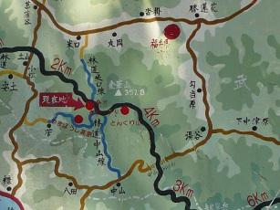 金華山周辺地図