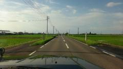 滑走路の道路
