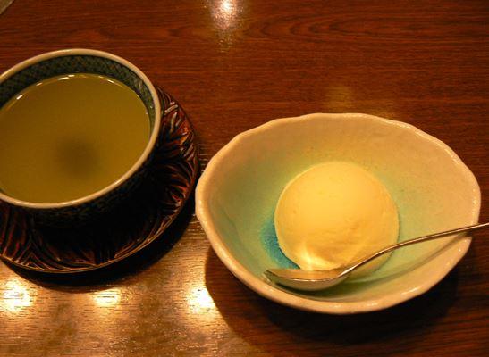 デザート・緑茶