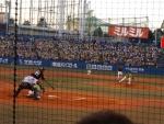 20140805阪神-ヤクルト1回裏新井ホームランの瞬間