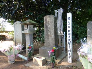 武田耕雲斎のお墓
