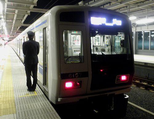 西武6000系・横浜行き(2013年12月31日・石神井公園駅)1