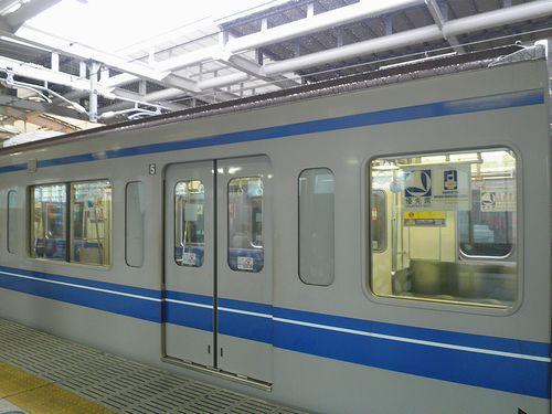 西武6151F・戸袋窓閉鎖後の様子(2014年2月14日・石神井公園駅)