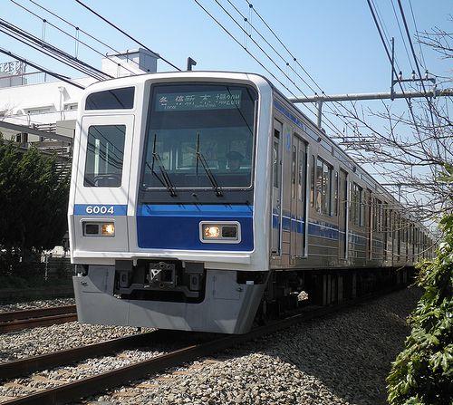 西武6000系・6104F(2013年3月16日・大泉学園~保谷間)