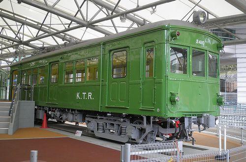 京王帝都電鉄2400形・デハ2410(2014年1月30日・京王れーるランド)