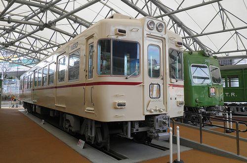 京王れーるランド・屋外展示場(2014年1月30日)