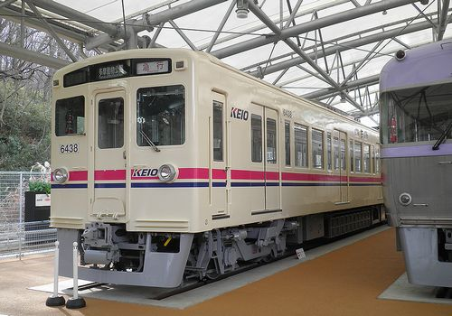 京王電鉄6000系・デハ6438(2014年1月30日・京王れーるランド)