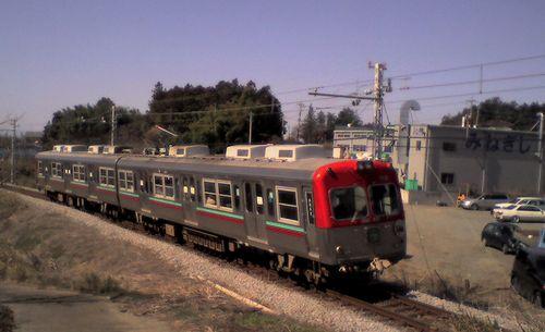 上毛電気鉄道700形(2009年3月15日・新里~新川間)