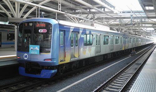 横浜高速鉄道Y500系・Y511F(2014年2月25日・石神井公園駅)