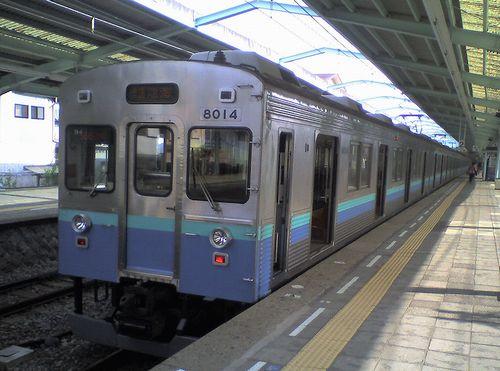 伊豆急行8000系(2010年5月30日・伊豆急下田駅)