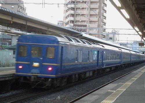 特急「あけぼの」(2014年3月4日・宮原駅)
