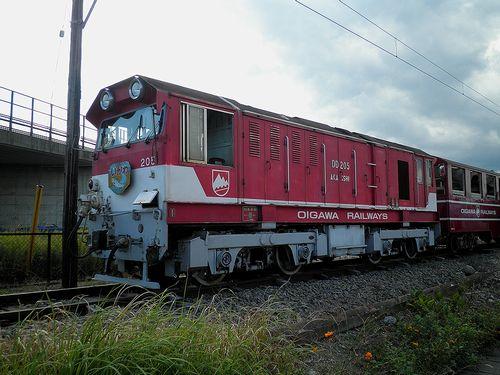 大井川鐵道井川線DD205(2012年10月7日・新金谷構外側線)