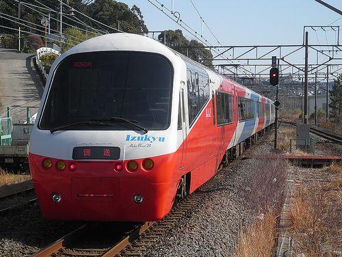 伊豆急行2100系「リゾート21EX」(2014年3月8日・湯河原駅)2