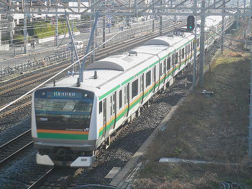 E233系3000番代(2014年3月8日・藤沢~辻堂間)