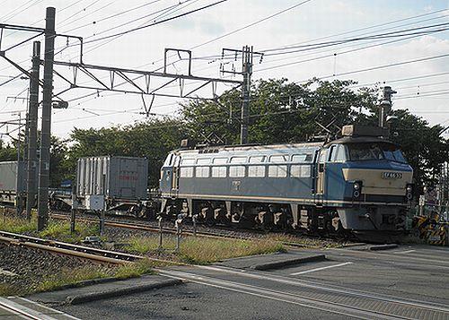 EF66 33[吹](2012年10月12日・川崎新町)