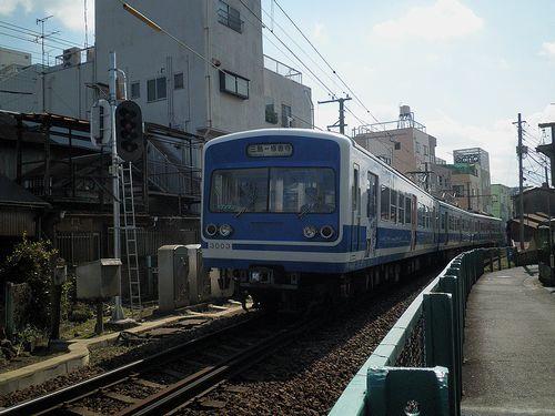 伊豆箱根鉄道3000系(第3編成)(2014年3月8日・三島~三島広小路間)