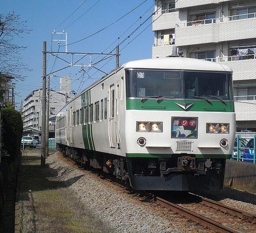 宮オオ185系「C1」編成(2014年3月8日・三島~三島広小路間)