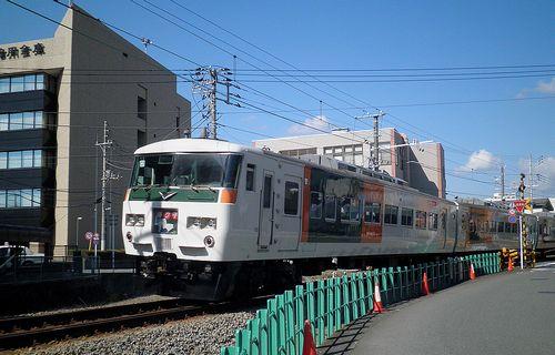 宮オオ185系「C3」編成(2014年3月8日・三島~三島広小路間)