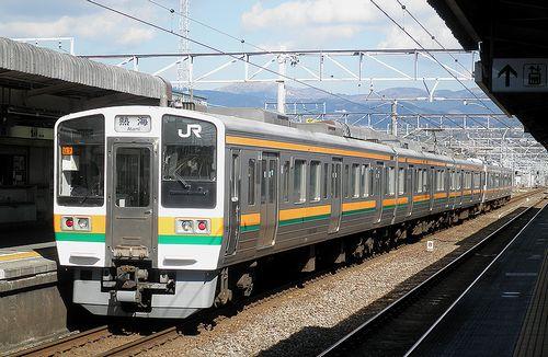 静シス313系「W9」編成+211系「LL7」編成(2014年3月8日・三島駅)2